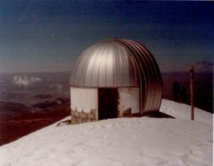 Ehemaliges Observatorium auf dem Chacaltaya
