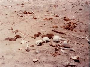 Mumienüberreste in der Atacamawüste